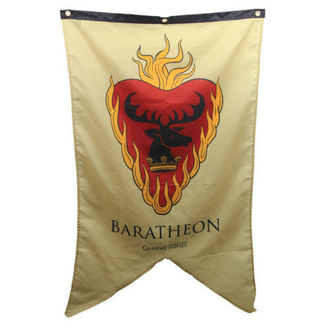 Game of Thrones Baratheon Sigil Banner, Calhoun Sportswear, The Fandom Frenzy, Amazon.com