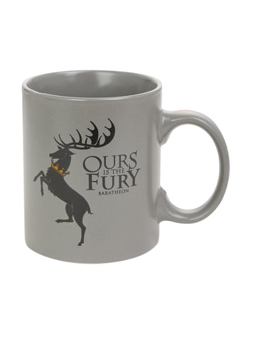 Game of Thrones Baratheon Mug, Dark Horse, The Fandom Frenzy, Amazon.com