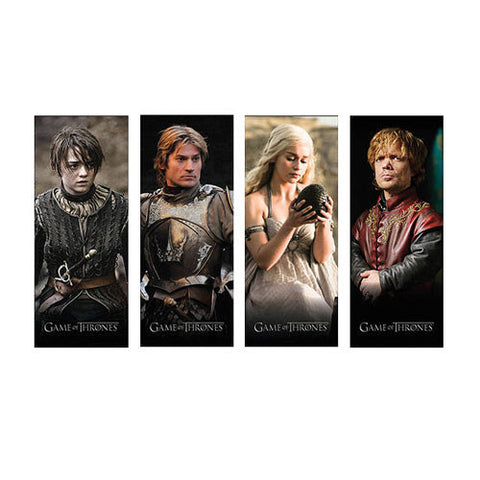 Game of Thrones Magnetic Bookmark Series 2 Set, Dark Horse, The Fandom Frenzy, Amazon.com