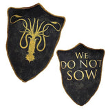 Game of Thrones House Greyjoy Kraken Throw Pillow, Factory Entertainment, The Fandom Frenzy, Amazon.com