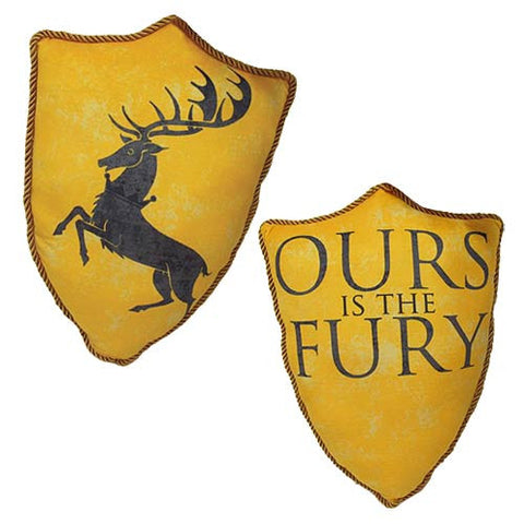 Game of Thrones House Baratheon Stag Throw Pillow, Factory Entertainment, The Fandom Frenzy, Amazon.com