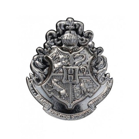 Harry Potter Hogwarts School Crest Pewter Lapel Pin, Monogram, The Fandom Frenzy, Amazon.com
