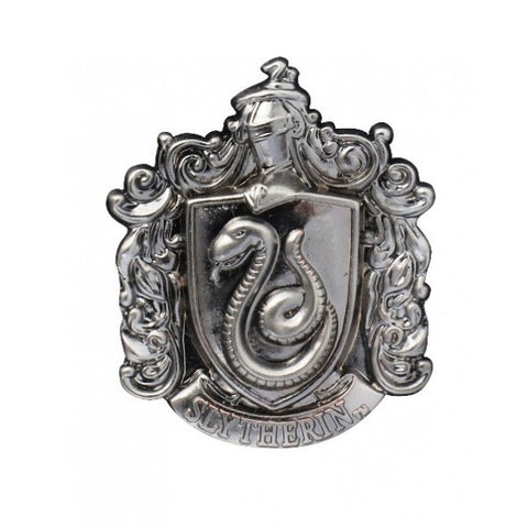 Harry Potter Slytherin Crest Pewter Lapel Pin, Monogram, The Fandom Frenzy, Amazon.com