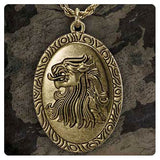 Game of Thrones Cersei Lannister's Pendant Necklace Replica, Noble Collection, The Fandom Frenzy, Amazon.com