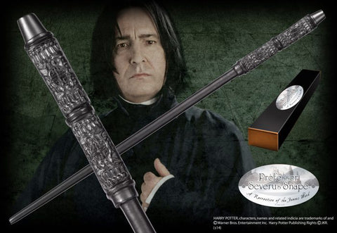 Harry Potter - Severus Snape Wand Replica, Noble Collection, The Fandom Frenzy, Amazon.com