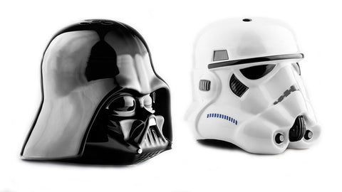Star Wars Darth Vader & Stormtrooper Ceramic Salt & Pepper Shakers, Underground Toys, The Fandom Frenzy, Amazon.com
