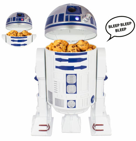 Star Wars R2-D2 Cookie Jar with Sound, Underground Toys, The Fandom Frenzy, Amazon.com