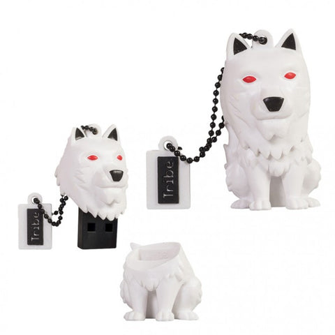 Game of Thrones Ghost Direwolf 16GB USB Flash Drive, Maikii, The Fandom Frenzy, Amazon.com