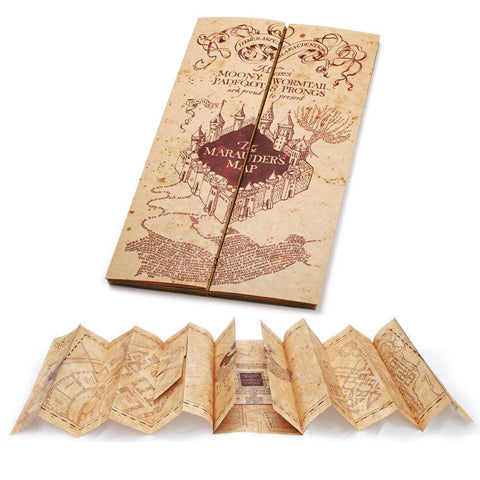Harry Potter Marauder's Map Replica, Noble Collection, The Fandom Frenzy, Amazon.com