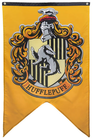 Harry Potter Hufflepuff House Banner, Calhoun Sportswear, The Fandom Frenzy, Amazon.com
