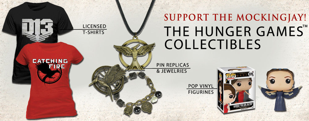Shop Hunger Games Merchandise