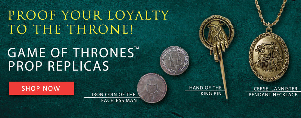 Shop Game of Thrones Merchandise