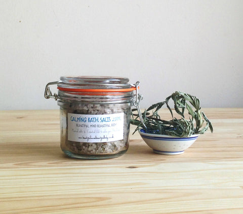 Calming Bath Salts, 200ml.