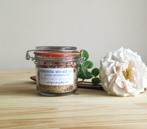 Rejuvenating Bath Salts, 200ml.