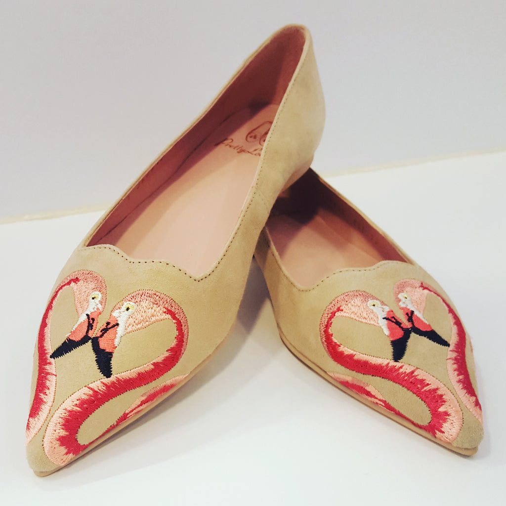 Pretty Ballerinas flamingo
