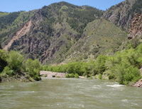 Gunnison River Gauge below East Portal