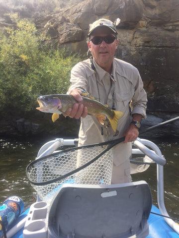 Gunnison float fly fishing