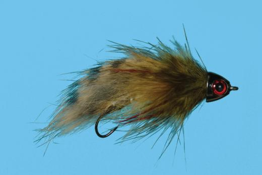 Sculpzilla Original Articulated Cone Head Streamer Fly Size 4 or 8 Solitude Fly Co.