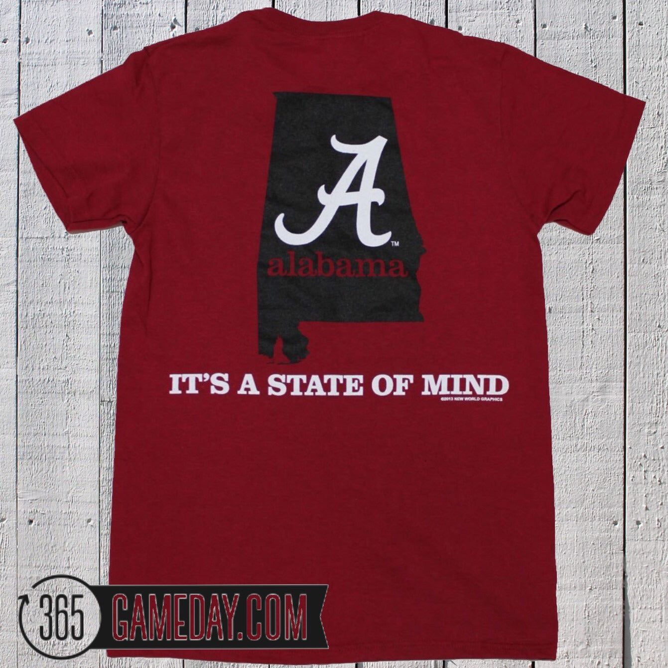 "Alabama ""State of Mind"" Crimson"
