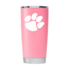 Clemson Nation -  Pink Powder Coated 20oz
