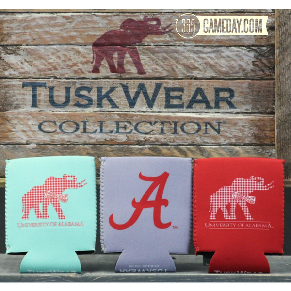 "Alabama ""Bowtie"" Can Coozie *"