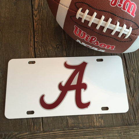 "Alabama ""Classic A"" License Plate"