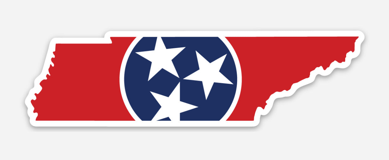 Tennessee Tristar Decal