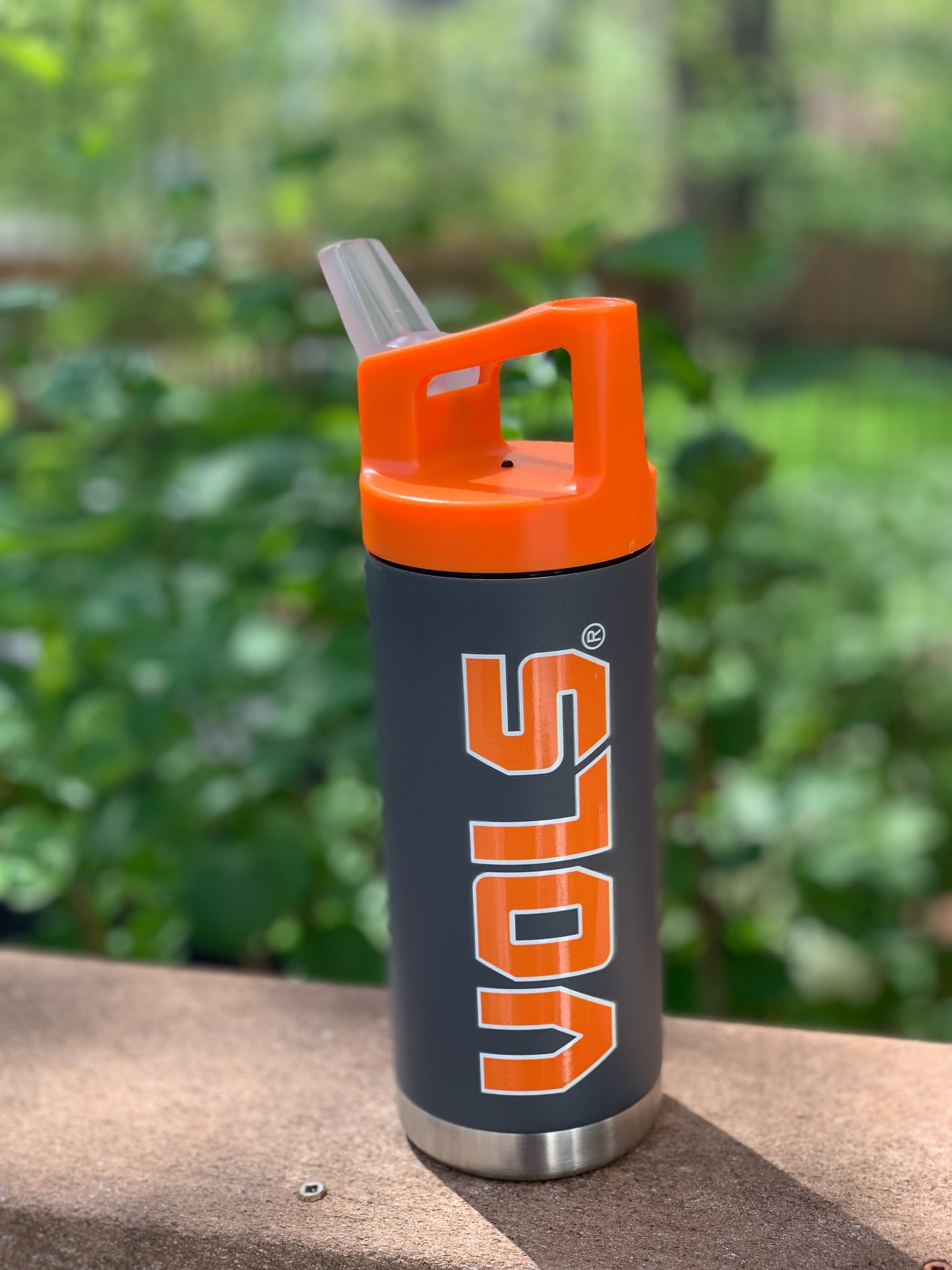 Tennessee Gameday Super Flask w/ Straw