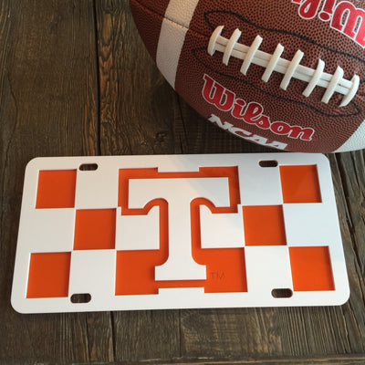 "Tennessee ""Checkerboard"" License Plate"