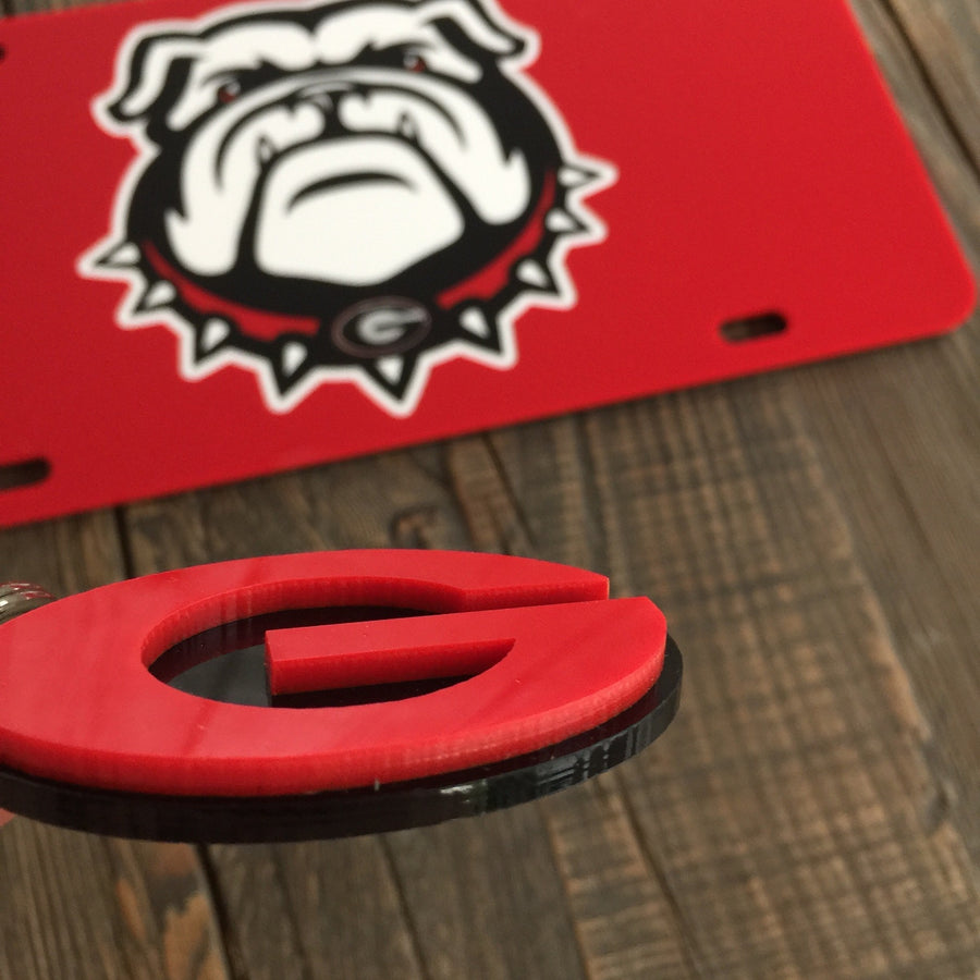 "Dawgs ""3D Cut"" Keychain"