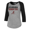 Alabama Ladies Raglan Tee