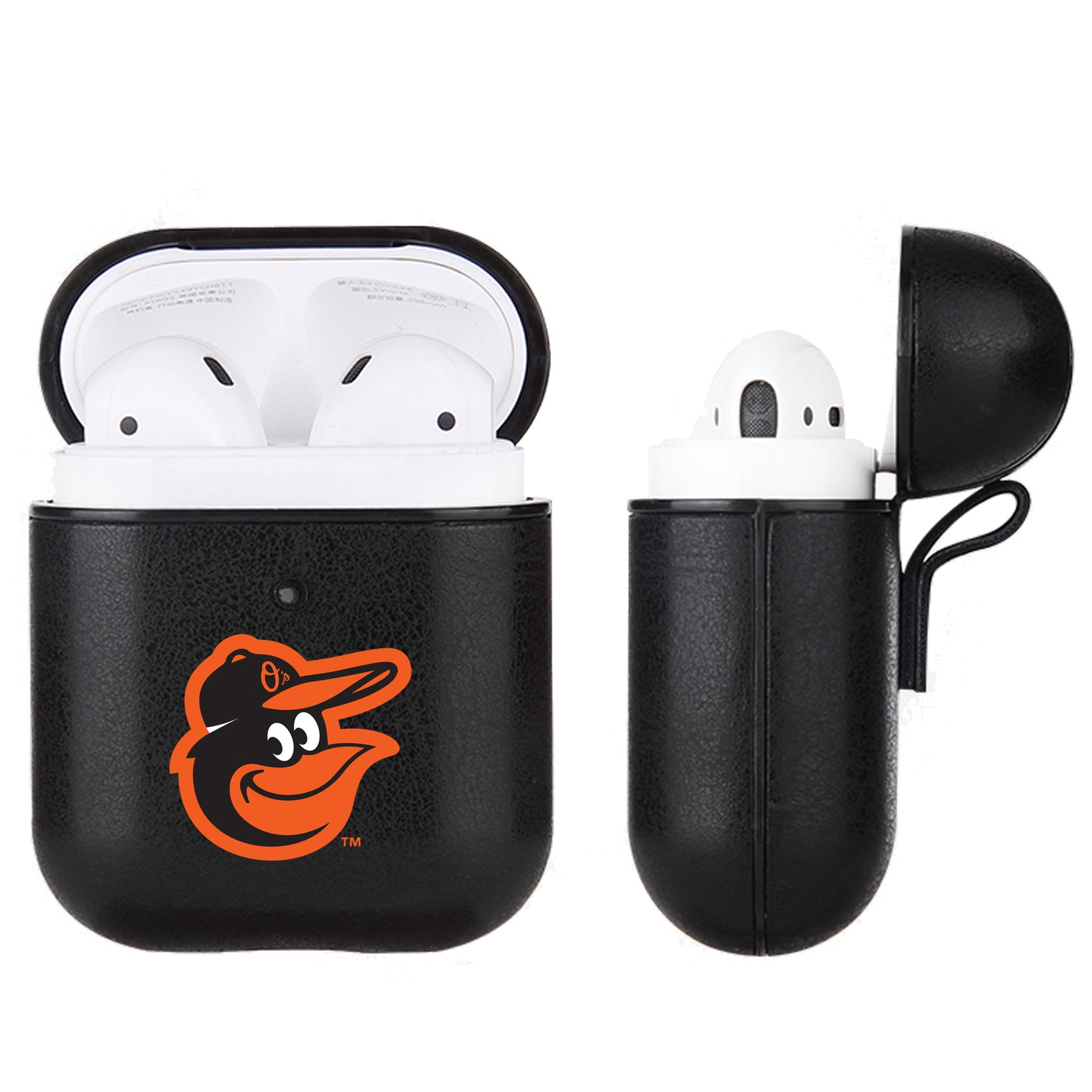 Baltimore Orioles Apple Air Pod Leatherette