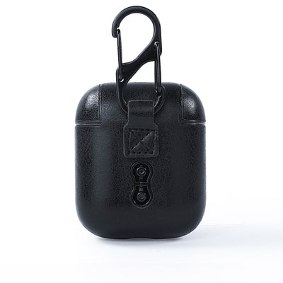 San Antonio Spurs Black Apple Air Pod Leather Case