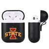 Iowa State Cyclones Primary Mark design Black Apple Air Pod Leather Case