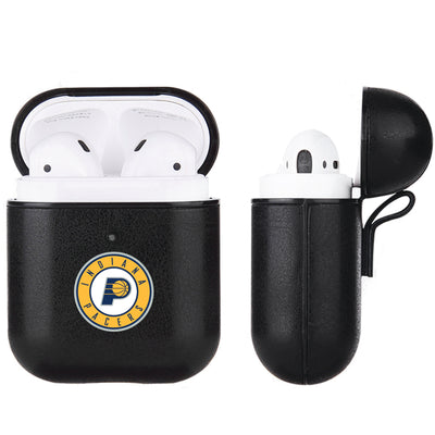 Indiana Pacers Black Apple Air Pod Leather Case