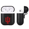 Indiana Hoosiers Primary Mark design Black Apple Air Pod Leather Case