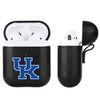 Kentucky Wildcats Primary Mark design Black Apple Air Pod Leather Case