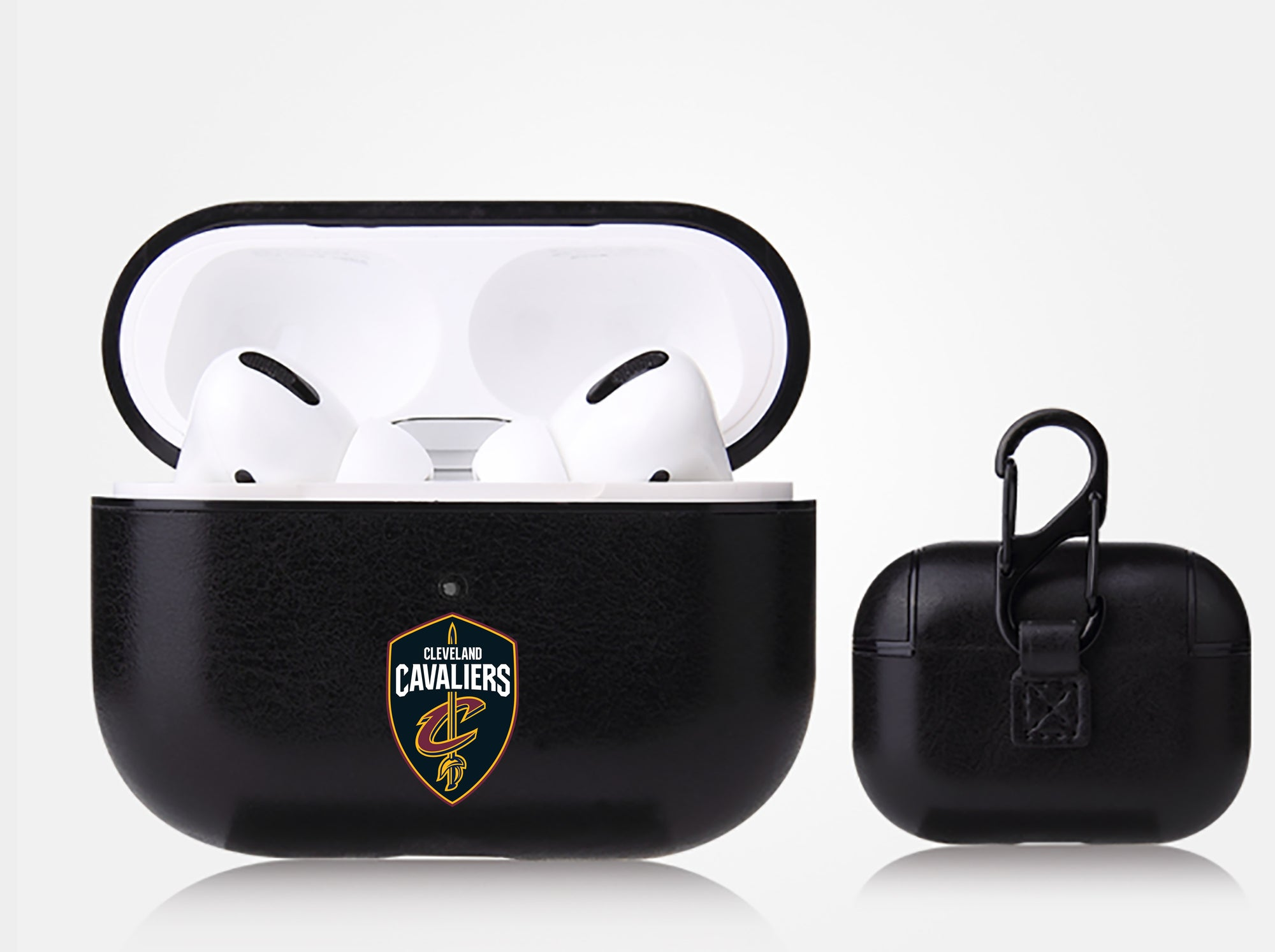 Cleveland Cavaliers Black Apple Air Pod Pro Leatherette