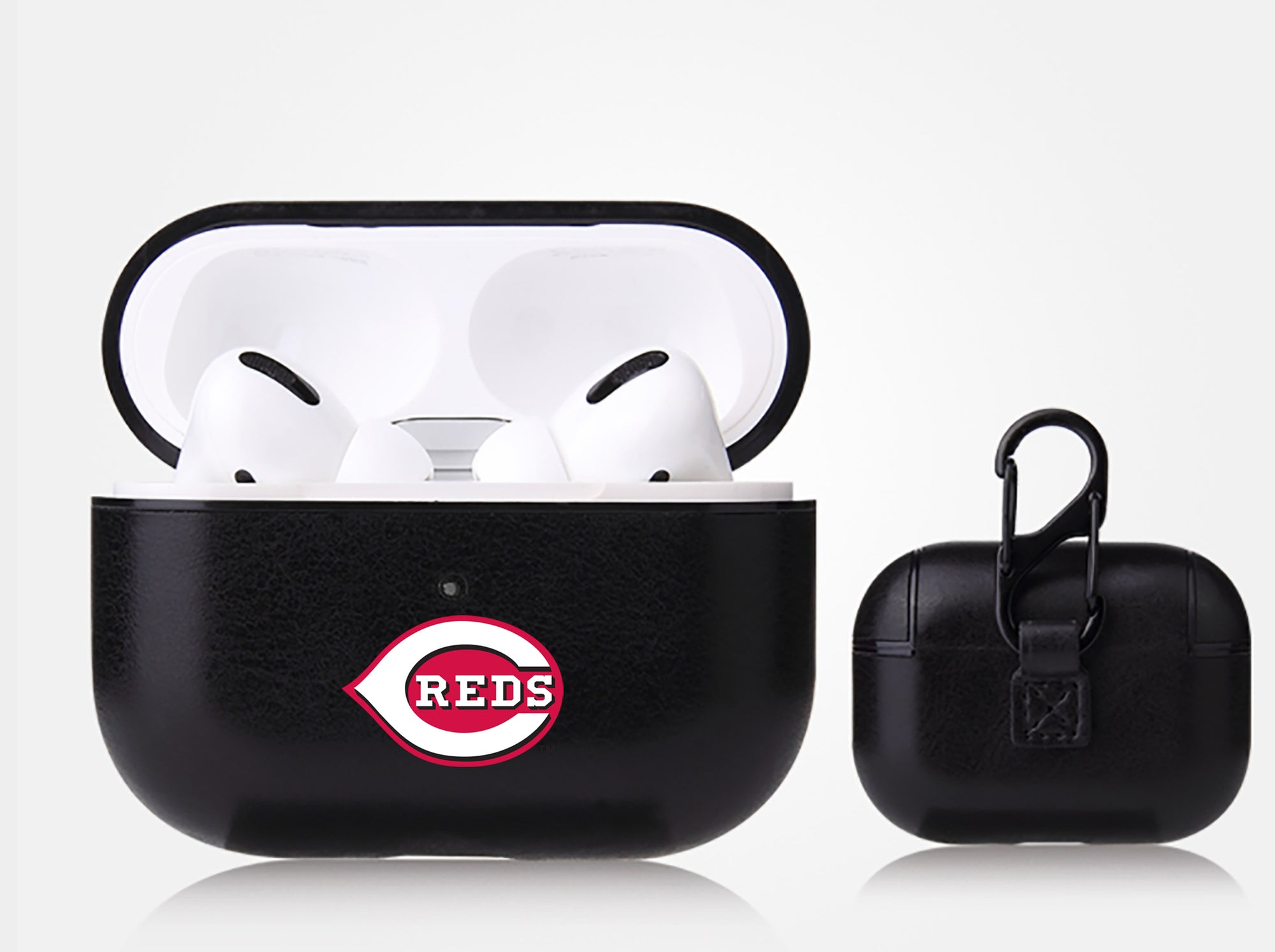 Cincinnati Reds Apple Air Pod Pro Leatherette