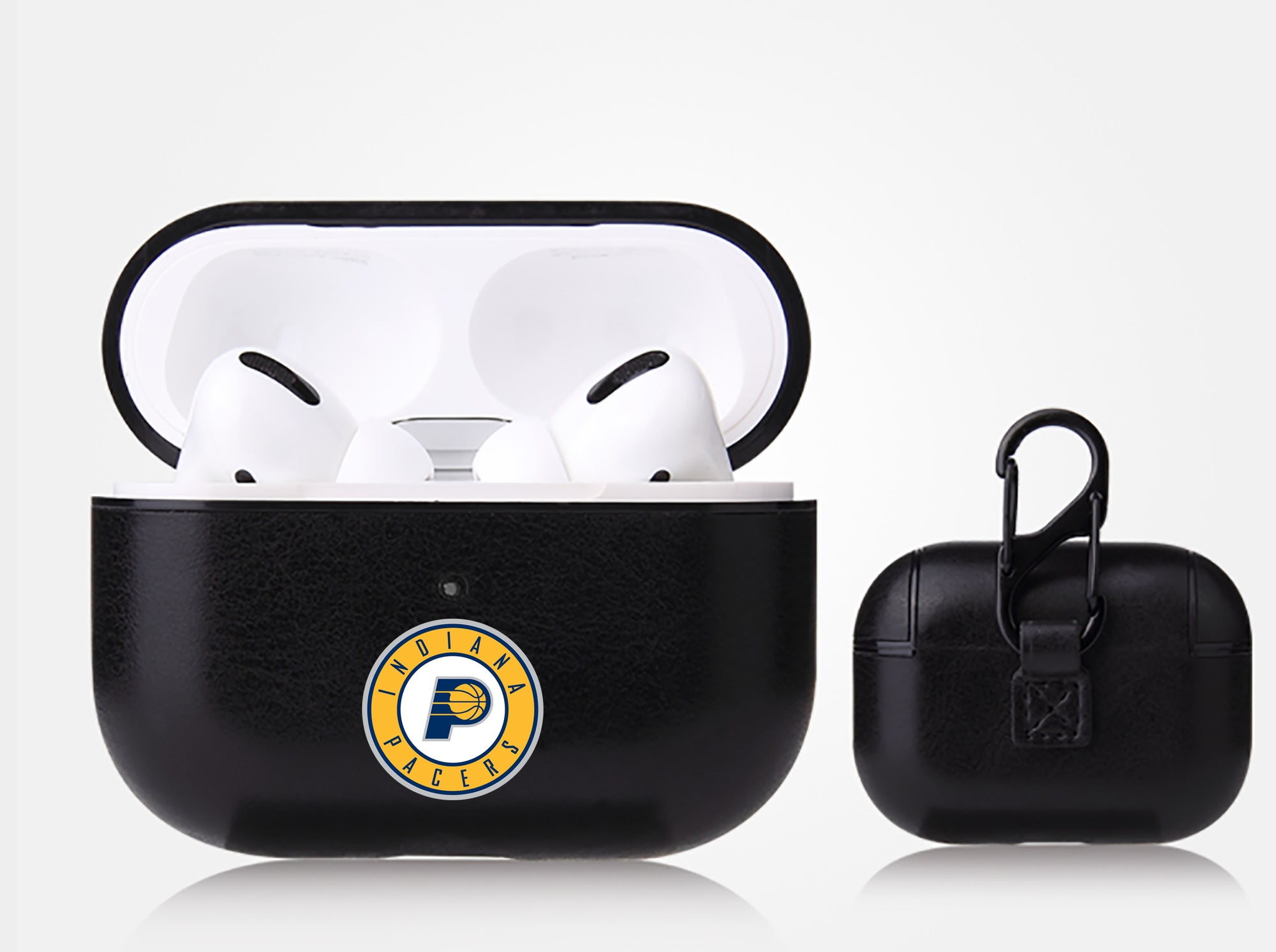 Indiana Pacers Black Apple Air Pod Pro Leatherette