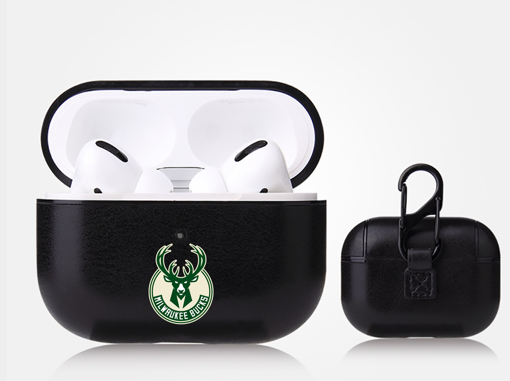 Milwaukee Bucks Black Apple Air Pod Pro Leatherette