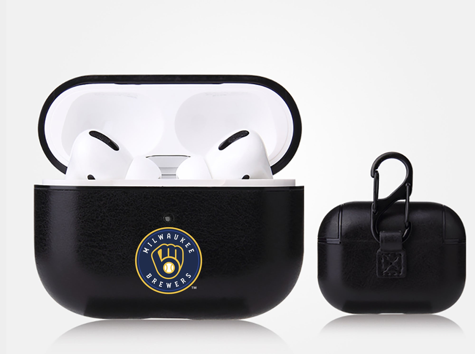 Milwaukee Brewers Apple Air Pod Pro Leatherette