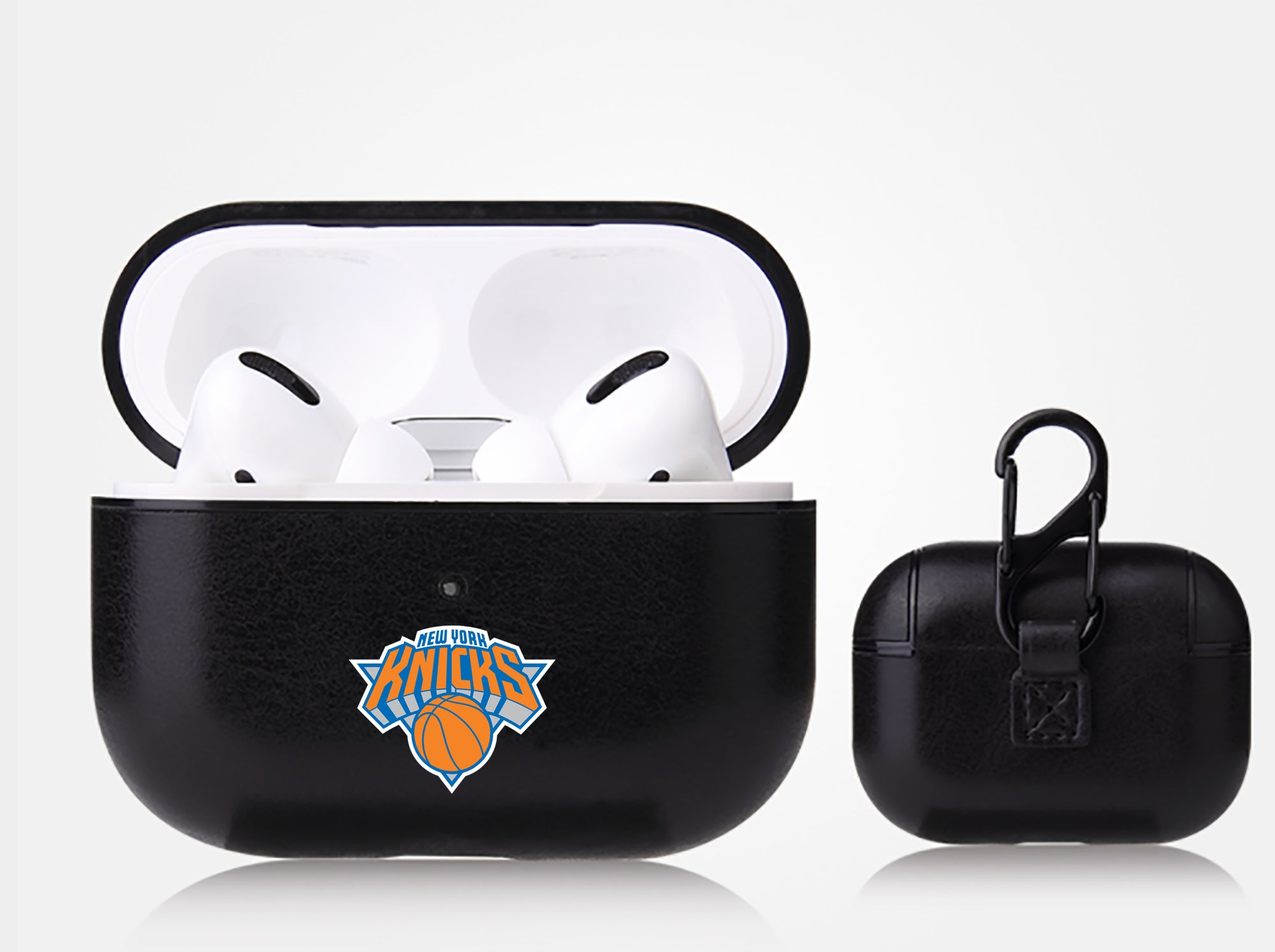 New York Knicks Black Apple Air Pod Pro Leatherette