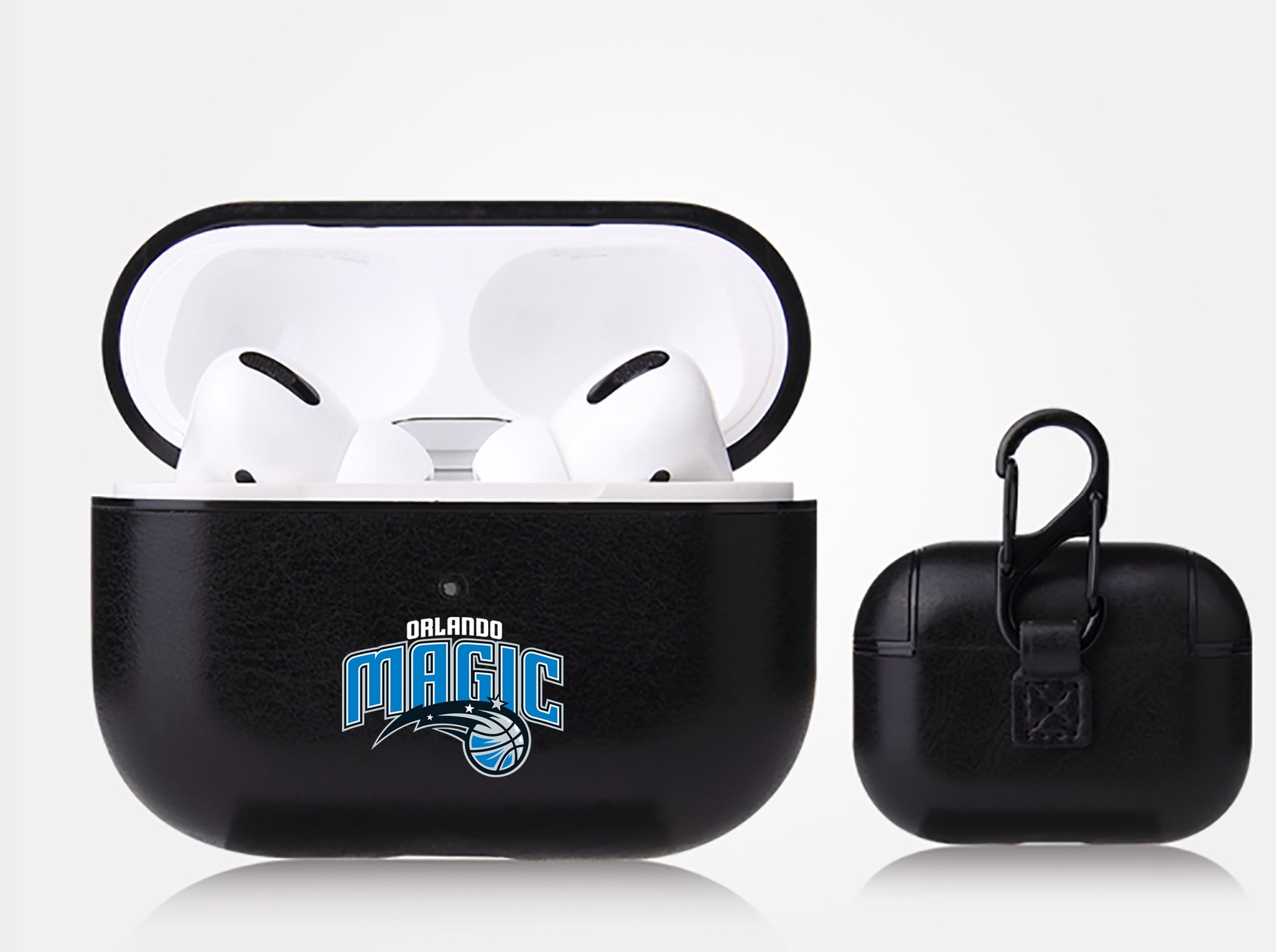 Orlando Magic Black Apple Air Pod Pro Leatherette
