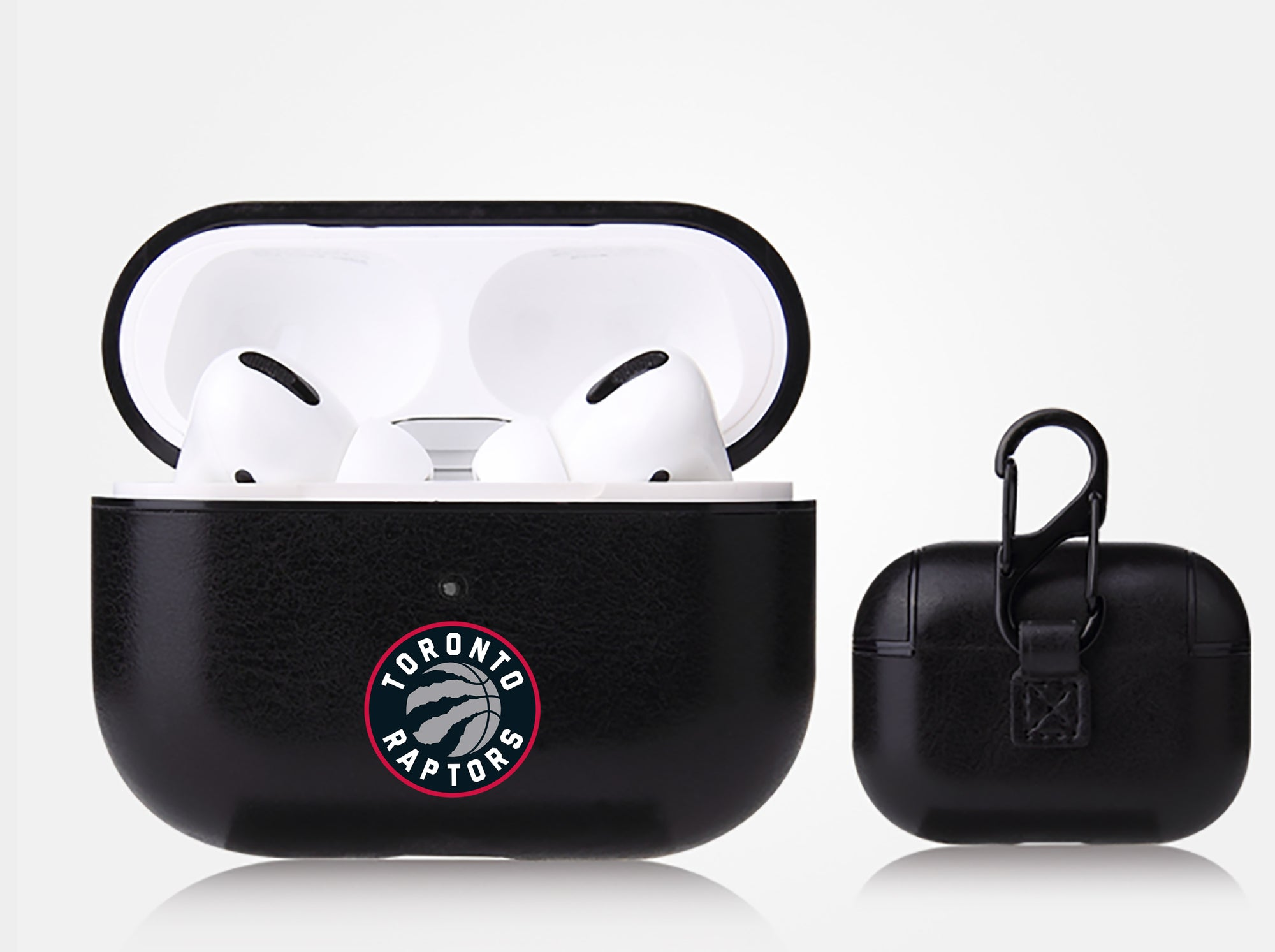 Toronto Raptors Black Apple Air Pod Pro Leatherette