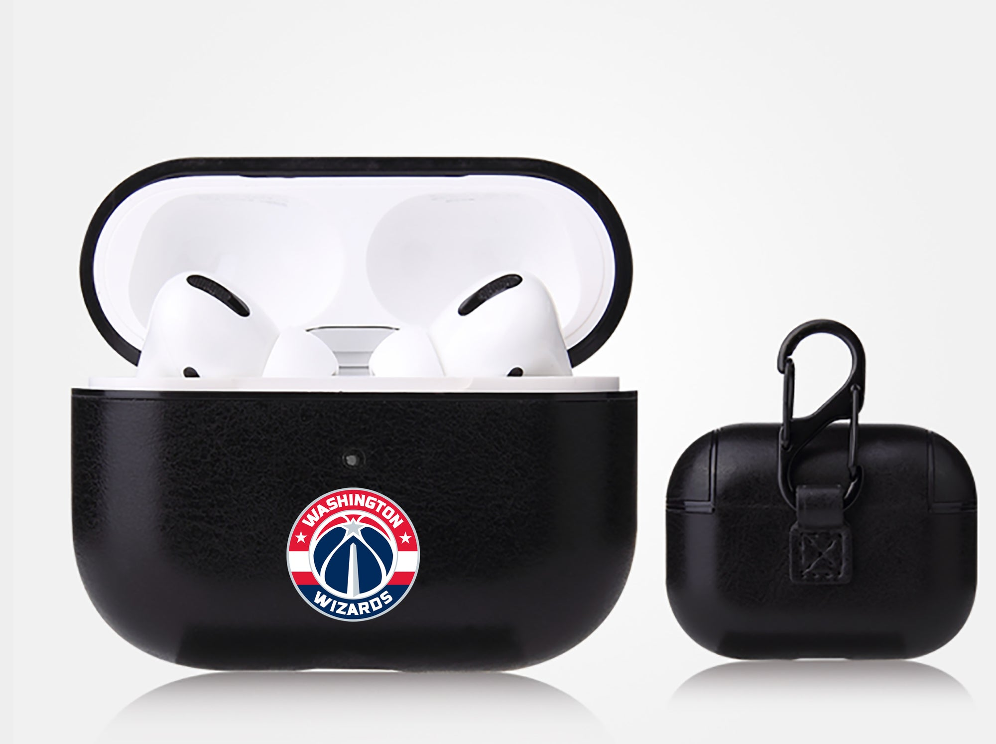 Washington Wizards Black Apple Air Pod Pro Leatherette