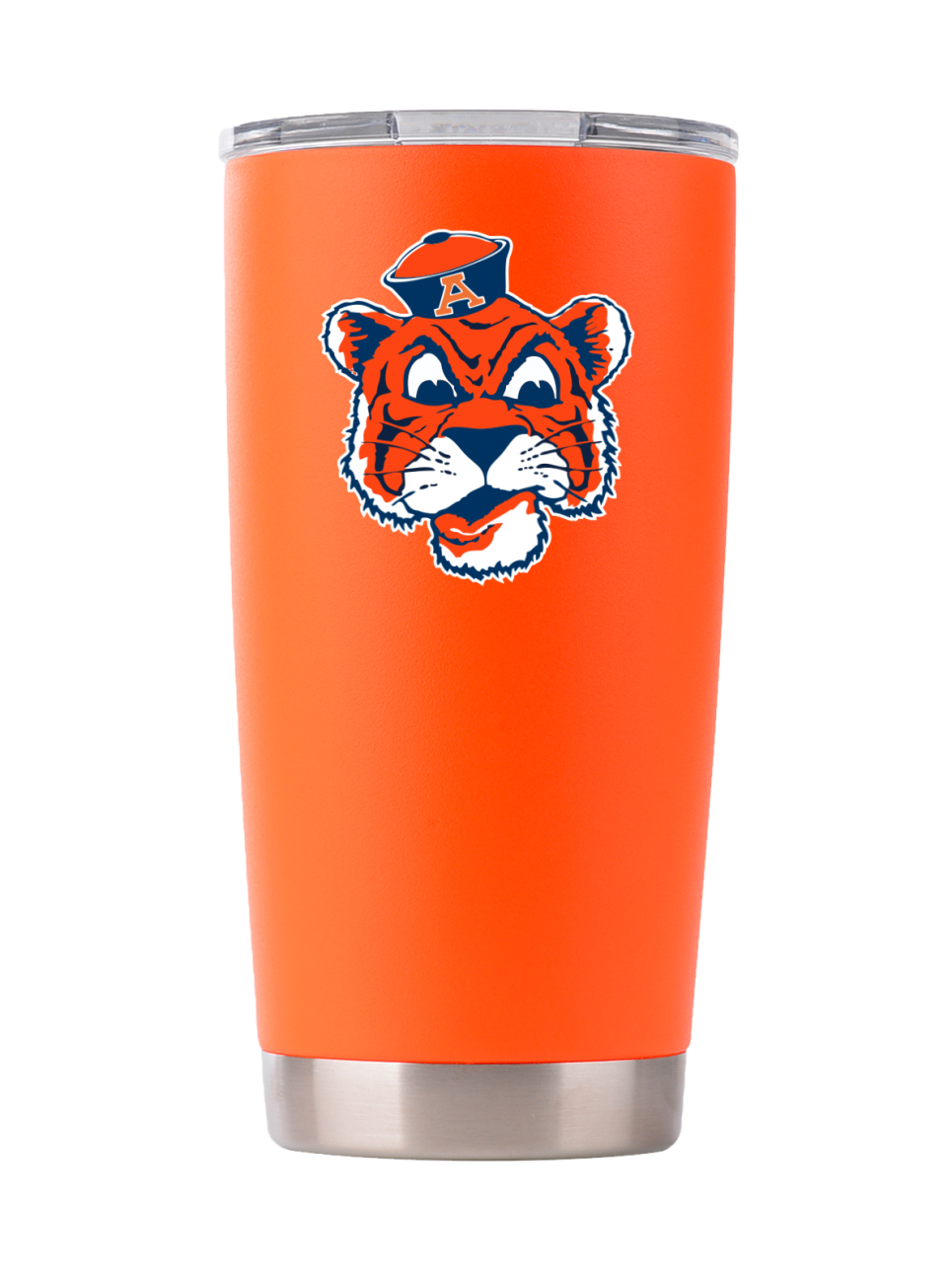 "Auburn ""Vintage Aubie"" Tumbler - Powder Coated"