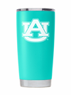 Auburn Spring Teal Tumbler - Powder Coated