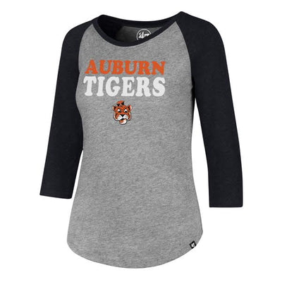 Auburn Tigers Ladies Raglan Tee