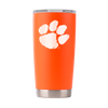 Clemson Nation -  Orange Powder Coated 20oz